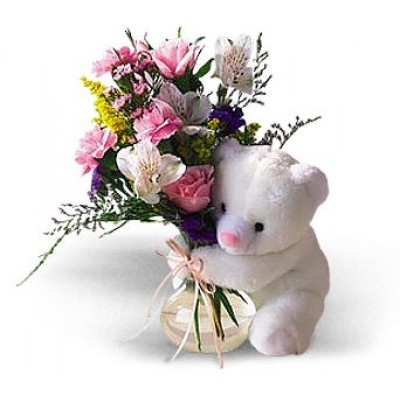 Beary Hug Bouquet HB