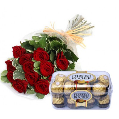 Combo Offer 12 Roses LR
