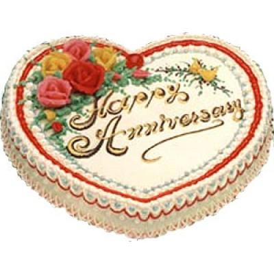 Creamy Heart Cake