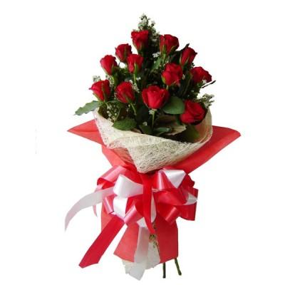 Roses Burst Bouquet LR HAB